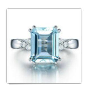 Women's blue ring size 9